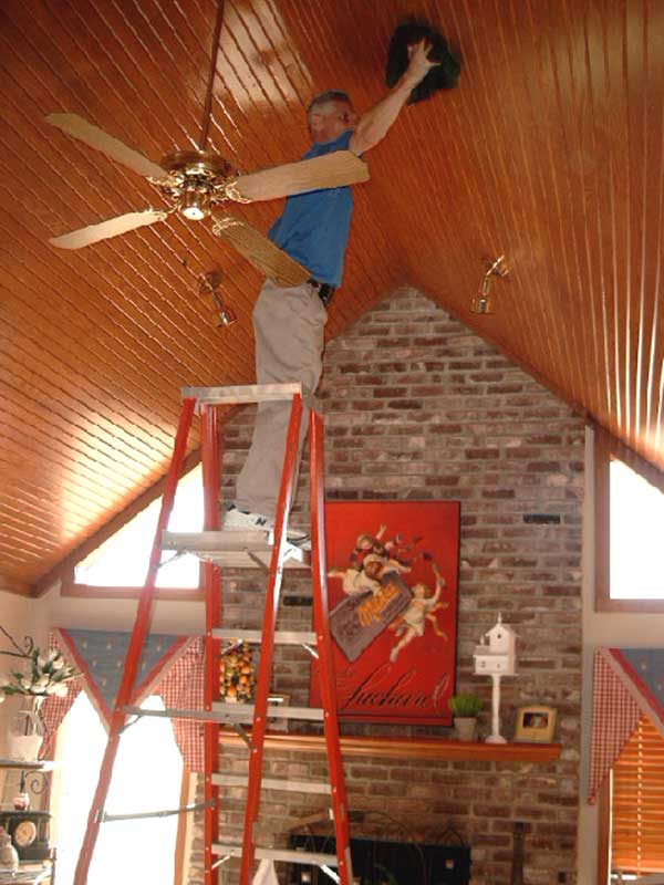 Ceiling Refinishing Picture